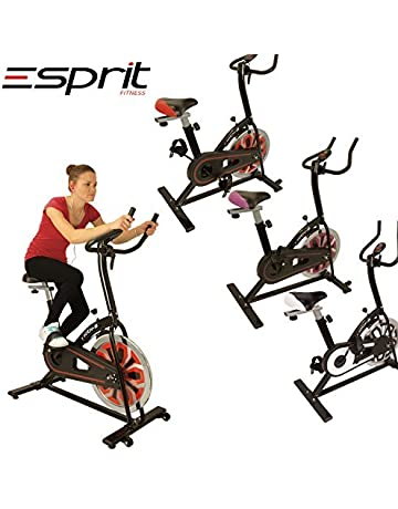 Esprit MOTIV-8 Exercise Spin Bike Fitness Cardio Weight Loss Machine with Most Popular 10KG Flywheeel & High End Build Quality