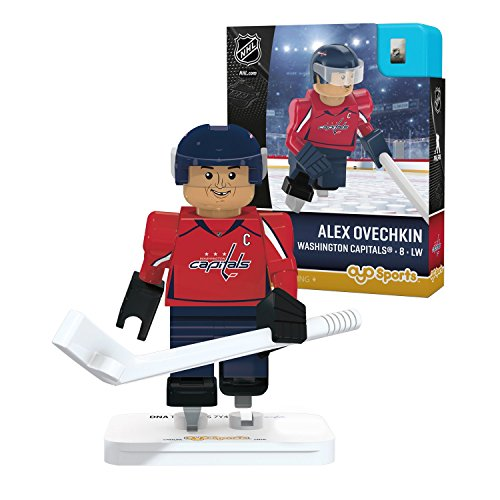 OYO Sports NHL Minifigure Washington Capitals Alex Ovechkin