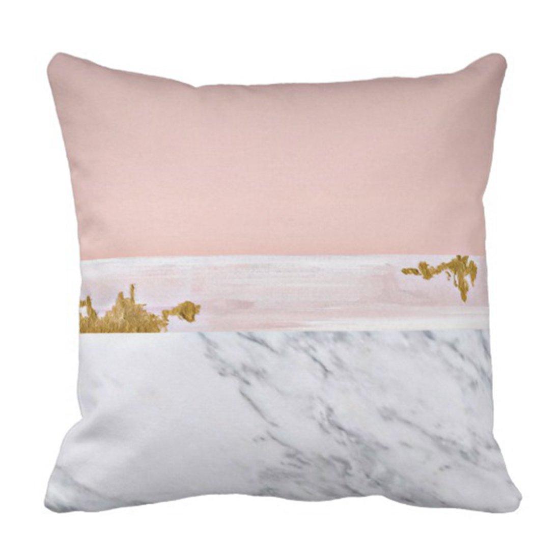 Amazon.com: Emvency - Funda de almohada de oro rosa y mármol ...