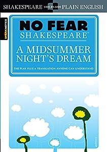 Paperback A Midsummer Night's Dream (No Fear Shakespeare) Book