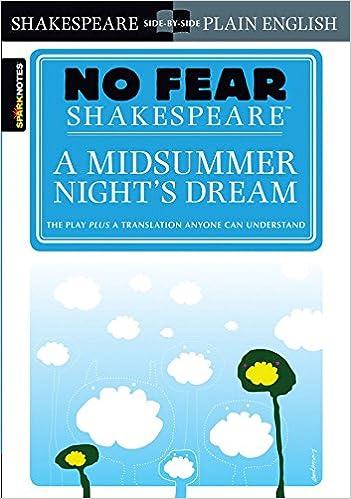 No Fear Shakespeare A Midsummer Night S Dream