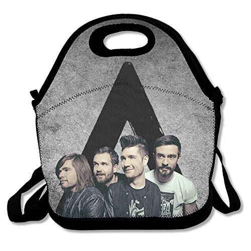Bad Blood Costume Designer (Bakeiy BASTILLE Misic Band Lunch Tote Bag Lunch Box Neoprene Tote For Kids And Adults For Travel And Picnic School)
