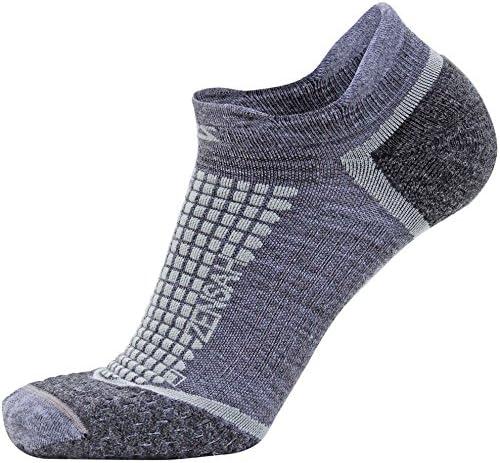 no showウールRunning Socks for Men and Women withクッションパディング – 湿気発散、アンチ水疱、Gritスポーツソックス