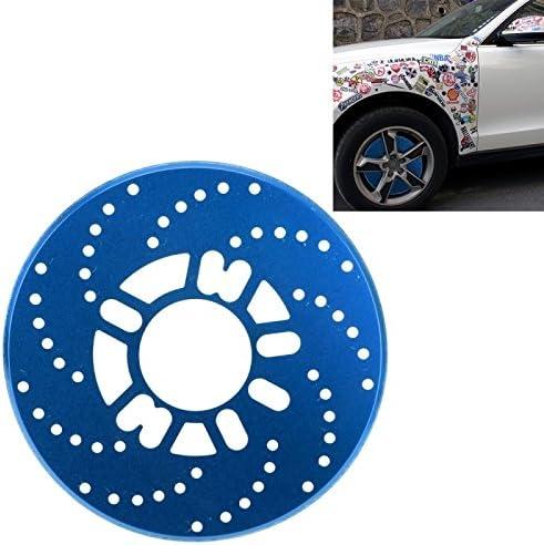 Wewoo Decoración para Freno Coche 2 pcs Universal de Aluminio Auto Rueda de Disco Racing Protectora Decorativa Azul: Amazon.es: Coche y moto