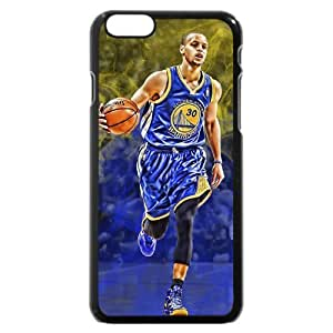 UniqueBox - Customized Black Hard Plastic iPhone 6 Case, NBA Golden State Warriors Superstar Stephen Curry iPhone 6 Case, Only Fit iPhone 6 Case