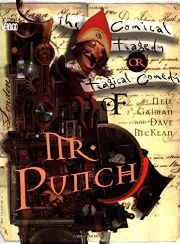 Image result for neil gaiman mr. punch