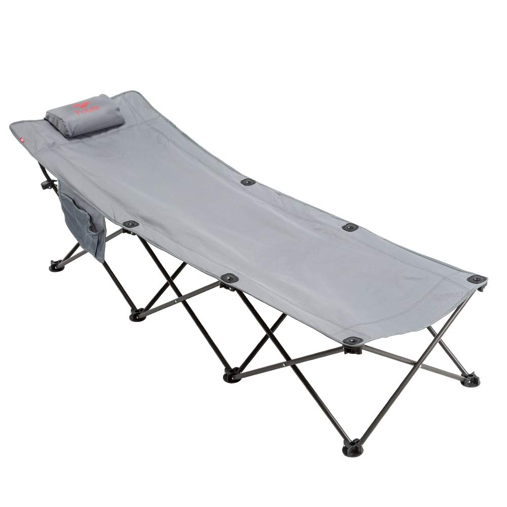 Yolafe Camping Cot Portable Folding Bed for Adults and Kids for Camping Traveling and Home Lounging.