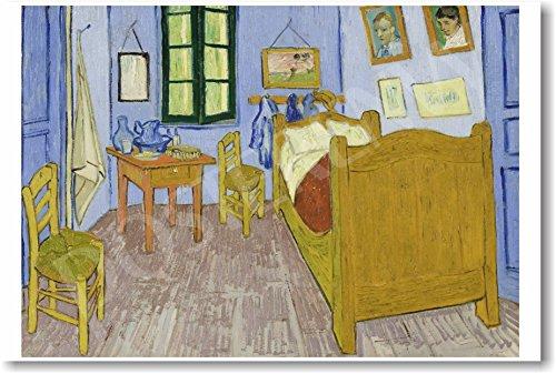 Bedroom in Arles 1888 - Vincent Van Gogh - New Fine Arts Poster