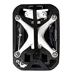 RCYAGO Hardshell backpack waterproof Bag protective Carry Case for DJI Phantom 3 Drone Quadcopter
