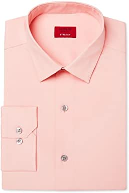 Alfani Spectrum Mens Slim Fit Poplin Long Sleeve Dress Shirt BHFO