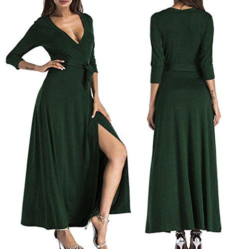 Jerseykleid langarm damen