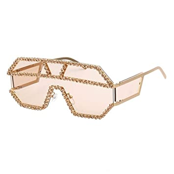 MJTCJY Gafas De Sol Mujer Diseñador De La Marca Diamantes De ...