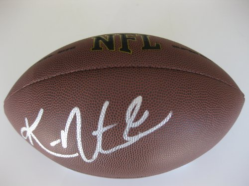 Ken Norton Jr, Dallas Cowboys, San Francisco 49ers, UCLA, Seahawks, Signed, Autographed, NFL Football, a COA with the Proof Photo of Ken Signing Will Be Included with the Football ()