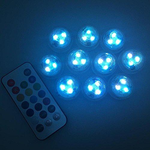 colored battery tea lights - 5