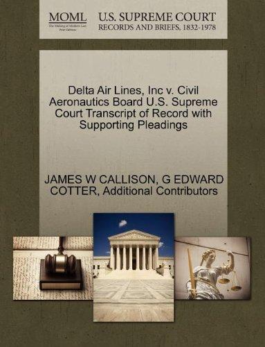 delta-air-lines-inc-v-civil-aeronautics-board-us-supreme-court-transcript-of-record-with-supporting-