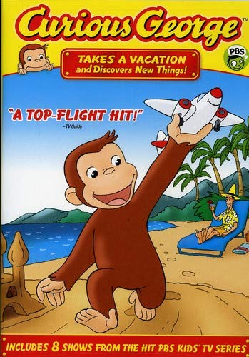 Curious George - Takes a Vacation & Discovers New Things -