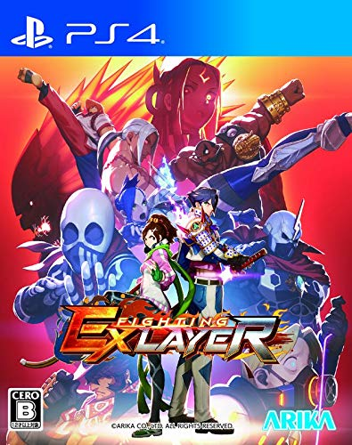 Arika Fighting EX Layer SONY PS4 PLAYSTATION 4 JAPANESE VERSION