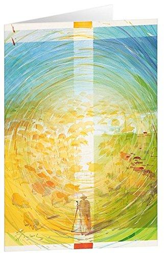 Kunstkarten Der gute Hirte: Der Herr ist mein HIrte, mir wird nichts mangeln, ... Psalm 23 Karten – 28. Januar 2010 Eberhard Münch Adeo B00302PZH8 Alben