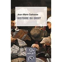 Histoire du droit [nouvelle édition]