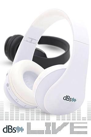 DBS Live serie inalámbrica Bluetooth auriculares con micrófono v4.1 Auriculares de diadema plegable para