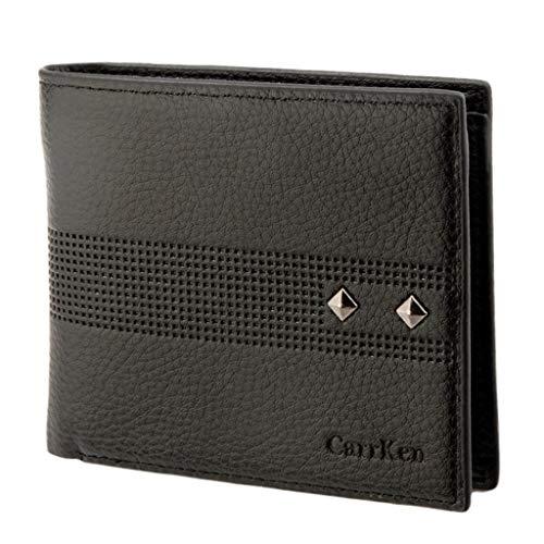 (Men's Wallet,PAQOZ Fashion Short Wallet Retro Color Multi-Card Multi-Function Wallet)