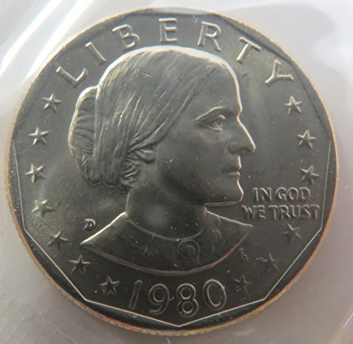 1980 D Susan B. Anthony Dollar Choice Uncirculated