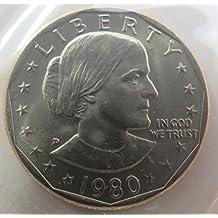 1980 D Susan B. Anthony Dollar Choice Uncirculated