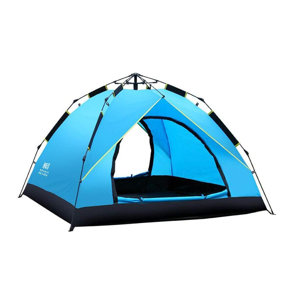 Dall zelte Zelt Pop-up Camping Zelt Automatisch Sofortig Easy Fold 2 Personen 230  210  140 cm (Farbe : Blau)