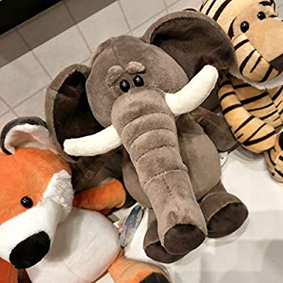 XuBa Forest Animal Doll Simulation Stuffed Animal Soft Doll Children Pillow Gift Fox 35 cm 0.2kg Gag Gifts for Kids: Home & Kitchen