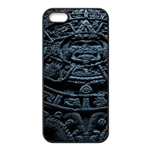 Okaycosama Funny IPhone 5,5S Cases Colorful 206 for Guys Design, Iphone 5s Case for Men, {Black}