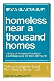 img - for Homeless Near a Thousand Homes: A Study of Homeless Families in South Wales and the West of England (National Institute for Social Services Library) book / textbook / text book