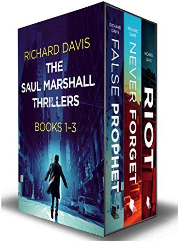 The Saul Marshall Thrillers: Books 1-3: (The Saul Marshall Thrillers Boxset) by [Davis, Richard]