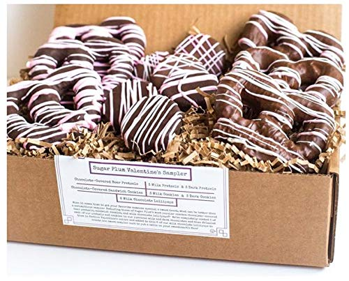 Easter Chocolate Covered Festive Pretzels, Pastel Chocolate Drizzle, Gift & Basket Stuffer, Hand-Made in USA, Small Batch