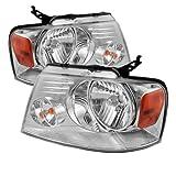 Spyder Auto HD-JH-FF15004-AM-C Crystal Headlight