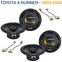 Toyota 4 Runner 2003-2009 Factory Speaker Upgrade Harmony (2) R65 Package New