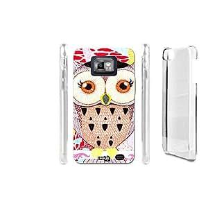 FUNDA CARCASA GIRL OWL PARA SAMSUNG GALAXY S2 GT-I9100