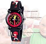 Dodosky Kids Watch, 3D Cartoon Waterproof Watch for