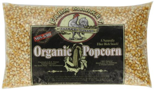 4204 Great Northern Popcorn Organic Yellow Gourmet Popcorn All Natural, 5 Pounds for $<!--$19.99-->