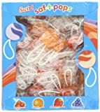 SAF-T-POPS, Swirl, 60 Count Box (Pack of 18)