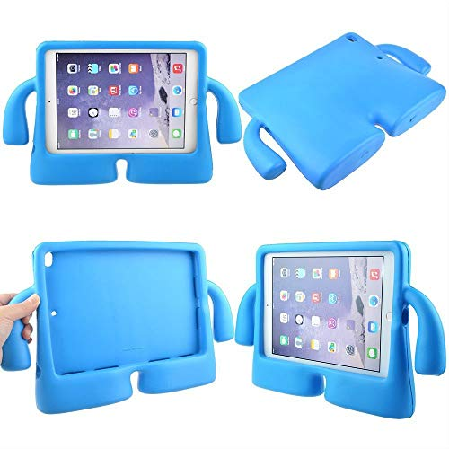 iPad 6th Kids Case for iPad 9.7 inch 2018/2017 Kids Shock Proof Bumper Cover Stand with Handle for Apple iPad 5th 6th Generation iPad Pro 9.7 inch ()