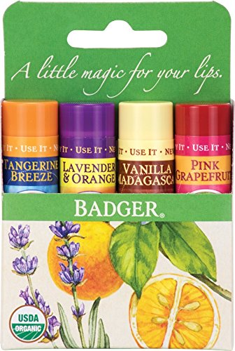 Classic Lip Balm - Tangerine Breeze, Lavender & Orange, Vani
