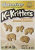 Kinnikinnick Gluten Free Animal Graham Cookies, 8 Ounce (Pack of 6)