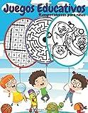 Juegos Educativos: Rompecabezas y pasatiempos para niños, Encuentra las diferencias, Sopa de letras, Encuentra el intruso, Desafío laberintos y unir los puntos.