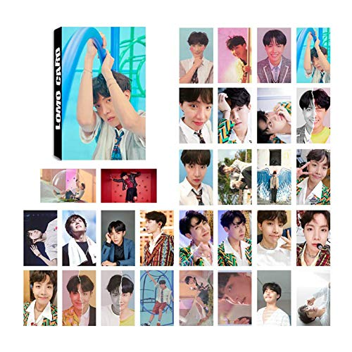 Yourself Card - Youyouchard Kpop 30pcs BTS Love Yourself 結 [Answer] Lomo Card Version 'S'/ 'E'/ 'L'/ 'F' BTS Bangtan Boys Photocard J-Hope Jimin and a Small Gift (H06: J-Hope)