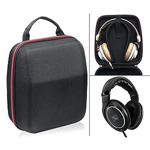 Headphone Carrying case/ travel bag for Sennheiser HD800, HD598, AKG K701, Q701, Beyerdynamic DT880, DT990 and More