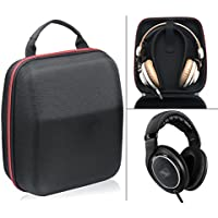 Headphone Carrying case/ travel bag for Sennheiser HD800, HD598, AKG K701, Q701, Beyerdynamic DT880, DT990 and More