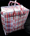 10 x Small Plastic Shopper Shopping S...
