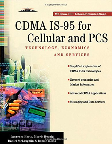 Price comparison product image CDMA IS-95 for Cellular and PCS: Technology, Applications, and Resource Guide