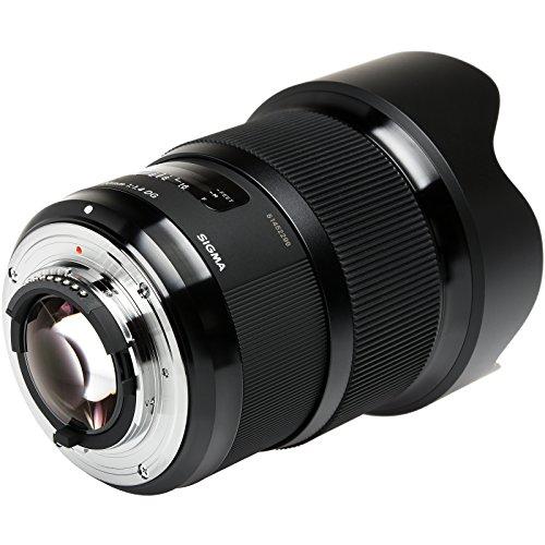 Sigma 20mm f/1.4 Art DG HSM Lens for Nikon Digital SLR Cameras with Flash + Soft Box + Diffuser Bouncer + Kit