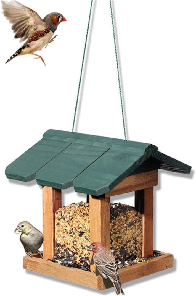 Knoijijuo Una Casa del Pájaro con Las Ventanas Abiertas para La Decoración Al Aire Libre Terraza Jardín